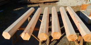 六角柱の乾燥