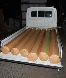 六角柱の出荷