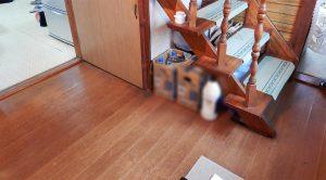 T様邸 床貼替工事 施工前の写真