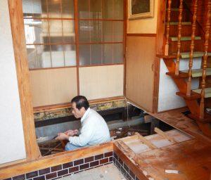 T様邸 床貼替 解体の写真